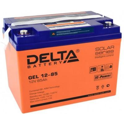 AGM аккумулятор Delta GEL 12-85